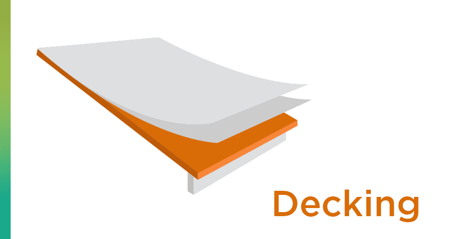 roof term decking